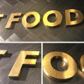 Metal Outdoor Business Signs