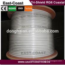 Standard USA ANSI-SCTE74 2003 rg6 tri shield coaxial cable