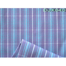 Checks Polyester Cotton Yarn Dyed Shirt Fabric Djx040