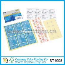 Etiquetas adhesivas adhesivas de pared para niños
