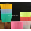 Disesuaikan Silicone Drink Cup Cover Case