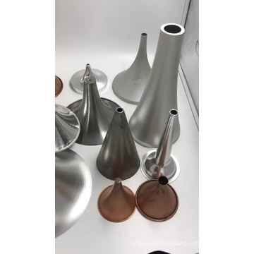 Metal spinning black metal table lamp shade