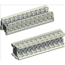 Connecteur IDC blanc 1,27 mm pour câble