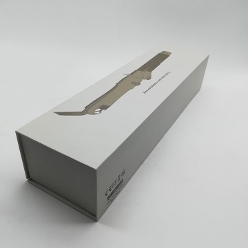 Пользовательская книга Shaped Hair Tong Paper Packaging Box