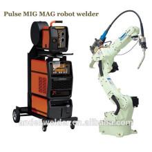 Robot de soudage machine double impulsion MIG MAG multifonction aluminium MIG soudeuse robotique de soudage machine