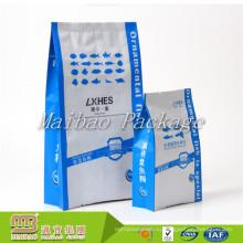 Торговое Обеспечение На Заказ Напечатанный Gusset Стороны Упаковки Еды Рыб Водных Животных Обед Мешок