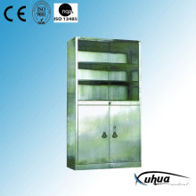 Stainless Steel Hospital Medical Medicine Cabinet (U-13)
