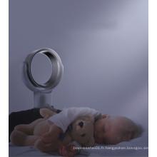 Prix usine de haute qualité 10 pouces portable mini table de sécurité électrique coffre ventilateur sans lame
