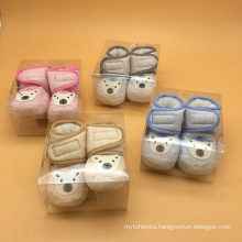 Wholesale gift set newborn products baby shoes packaging
