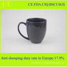 Ceramic Stoneware Solid Color Blank Coffee Mugs