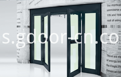 Ningbo GDoor Automatic Swing Doors for Double Parting