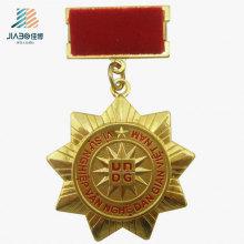 Горячая Продажа Литья Сплавов Золота Изготовленный На Заказ Медальон Медали Металла Сувенира