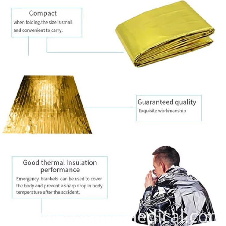 130*210 Cm First Aid Foil Blanket
