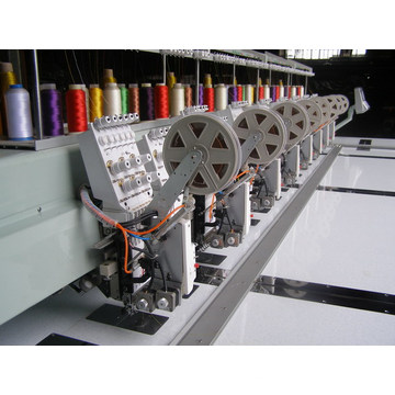6needles 8heads Twin с блестками вышивальная машина