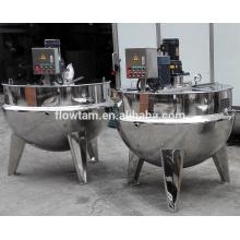 Fogão elétrico industrial do aço inoxidável do molho