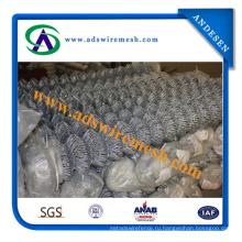100% новый материал высокого качества ПВХ покрытием цепи ссылка забор