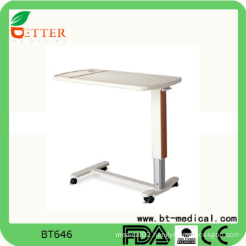 Detachable Overbed Table Height Adjustable table