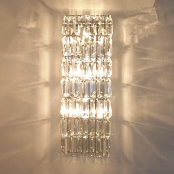 decorate vintage luxurious crystal wall lamp