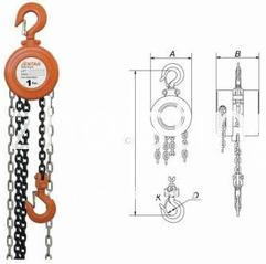 HSZ type hand operated chain block hoist