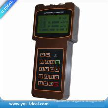 Medidor de fluxo de transdutor de ultra-som Hand-Held / Medidor de fluxo ultra-sônico portátil-Medidor de fluxo digital