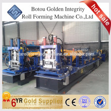 steel structural CZ purlin roll forming machine