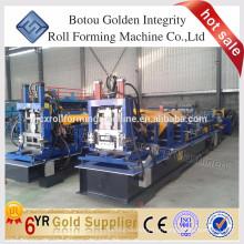 Máquina de formação de rolo de aço CZ purlin de aço
