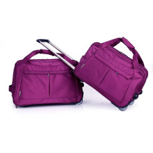 Bolsa de viaje de carretilla con equipaje de aluminio