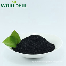 Dry Basis Sodium Humate Shiny Flake for Vegetables Fruits and Feed Additive from Worldful
