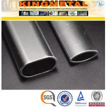 Труба ASTM пробка a554 нержавеющей стали tp304 овальные стальные трубы для мебели