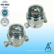 Instrumento tipo seco agua medidor de agua potable