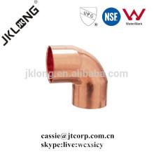 Cobre encaje de cobre de 90 grados