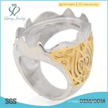 Самые новые кольца из нержавеющей стали, дизайн ваших собственных колец из Индонезии