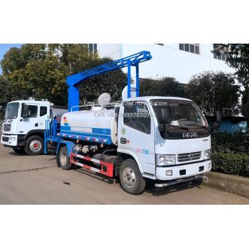 Caminhão de supressão de poeira ferroviário Dongfeng 5T novíssimo