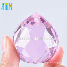 20mm Chandeliers ROSE Crystal Ball Prisms Feng Shui Ball
