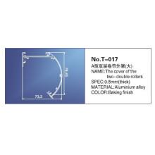 28mm, trilho principal de 38mm, peças das cortinas de rolo, T-017