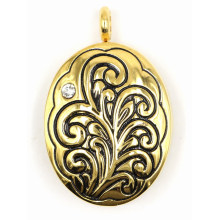 Magnet Perfume Locket for Lady′s Necklace Pendant
