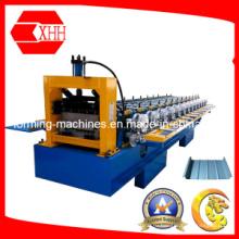 Профилегибочная машина для производства фальцевых крыш с прямыми и коническими крышами (Yx65-400-425)