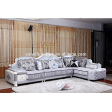 Mixed color for living room fabric sofa sets luxury sofa KW9110