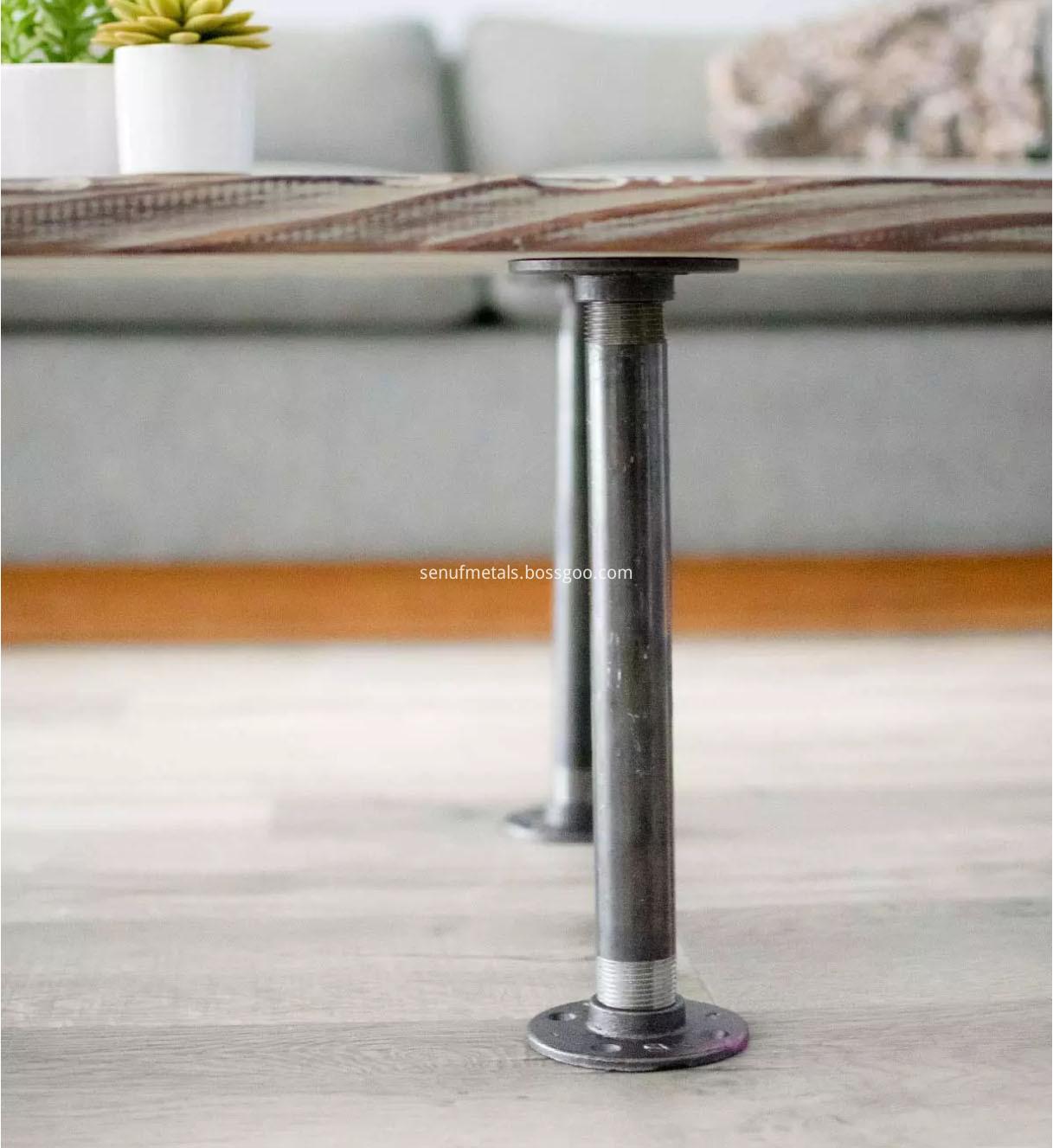 Pipe Flange Industrial Dark Grey Floor Flange (9)