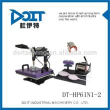 6 en 1-2 Calor de transferencia Presione DT-HP6IN1-2