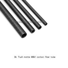 Трубка из углеродного волокна с круглым стержнем на заказ