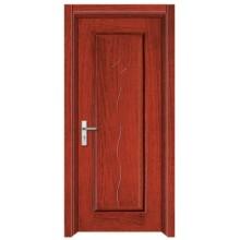 Interior steel wooden door