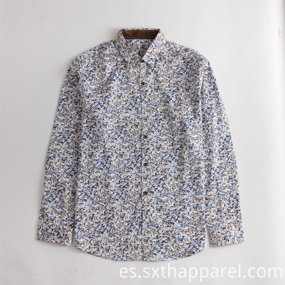 Anti-static Long-sleeve Print Shirts
