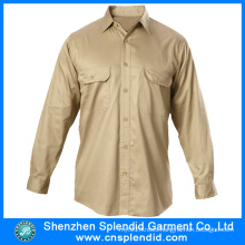 Guangdong Wholesale Men′s Cotton Shirts with High Quality
