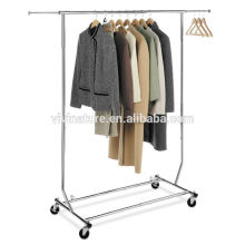 high quality elegant garment drying rack, cloths displan in supermarket