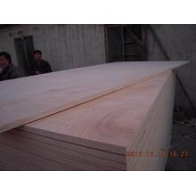 Una vez presionó la madera contrachapada del embalaje del álamo con el precio bajo