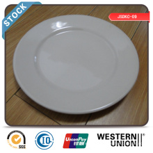 "9"" Dinner Plate (broad edge) in Stock with Cheap Price"