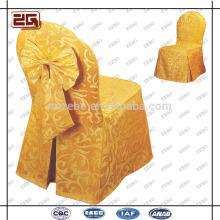 Art- und Weiseentwurfs-Polyester-allgemeiner nach Maß Großhandelshochzeits-Stuhl-Abdeckung