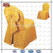 Fashion Design Polyester Universal Custom Made Wholesale Wedding Chair Cover