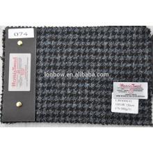 nomal width scotland tweed fabric in houndstooth design